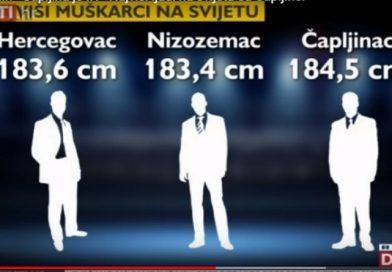 ČEŠKI STRUČNJACI OTKRILI Najviši ljudi na svijetu su Hercegovci, a grad u kojem su najbrojniji je Čapljina