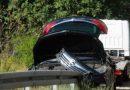 ČAPLJINA-MOSTAR Pogledajte scene nesreće, automobil se prevrnuo u tunelu, pravo je čudo da nema ozlijeđenih