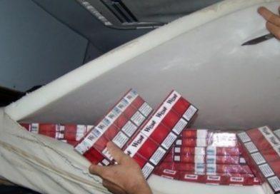 Granični policajci iz Terenskog ureda Jug Čapljina zaplijenili 2 620 kutija cigareta