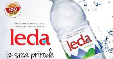 """Prirodna izvorska voda LEDA je """"MUST HAVE"""" proizvod"""