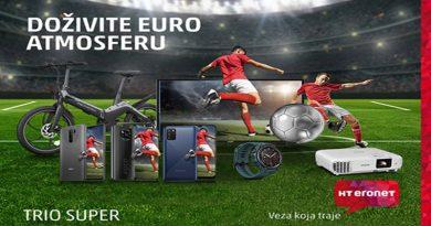 Europsko prvenstvo u nogometu uz HOME.TV